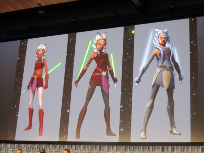 Ahsoka's Design Changes Through The Years