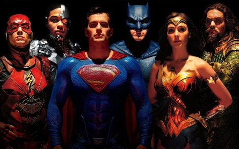 001 Justice League Banner (Wallpaper)