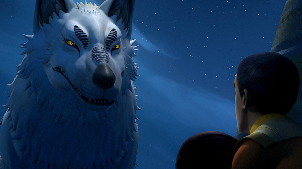 Star Wars The Loth Wolf And Wolf Symbolism Future Of The Force