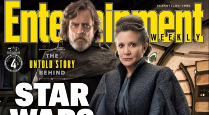 Entertainment Weekly Unveil Their Star Wars: The Last Jedi Covers
