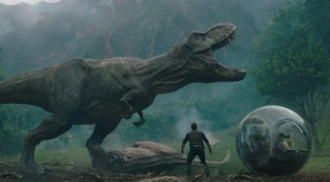 The Jurassic World: Fallen Kingdom Trailer Has Arrived