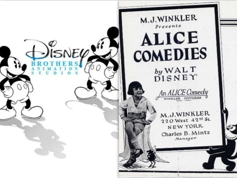 Disney Brothers Alice Comedies