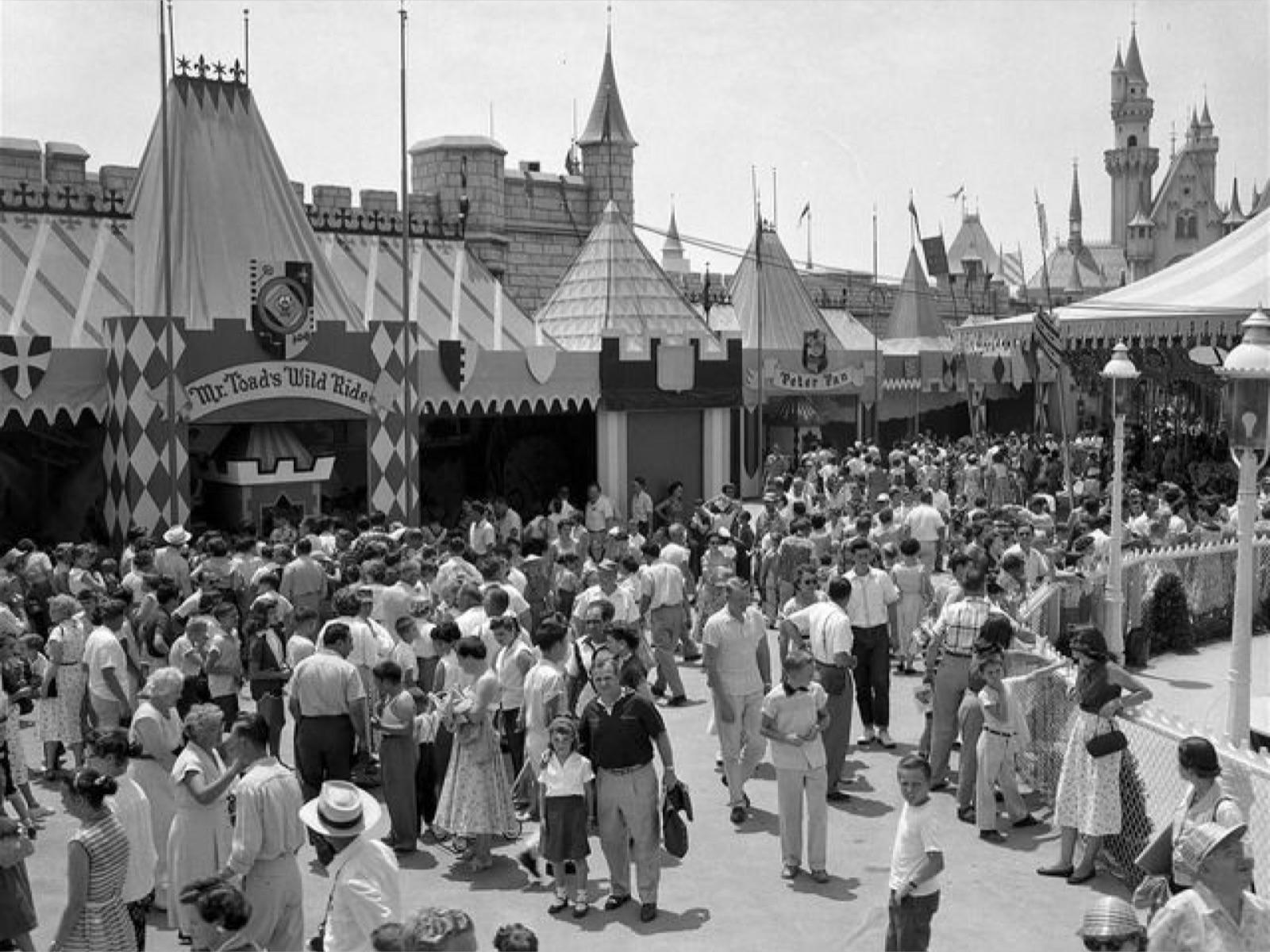 Disneyland Opening Day 1955 Reality