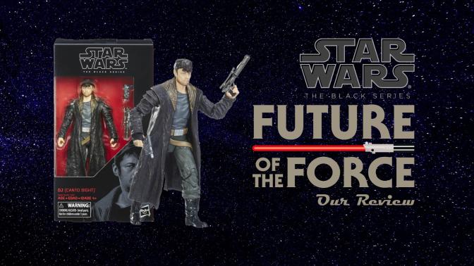 Black Series Review:  DJ (Canto Bight) | Star Wars: The Last Jedi