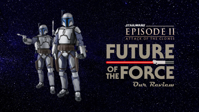 FOTF Kids Corner: S.H Figuarts Review | Jango Fett Attack of the Clones