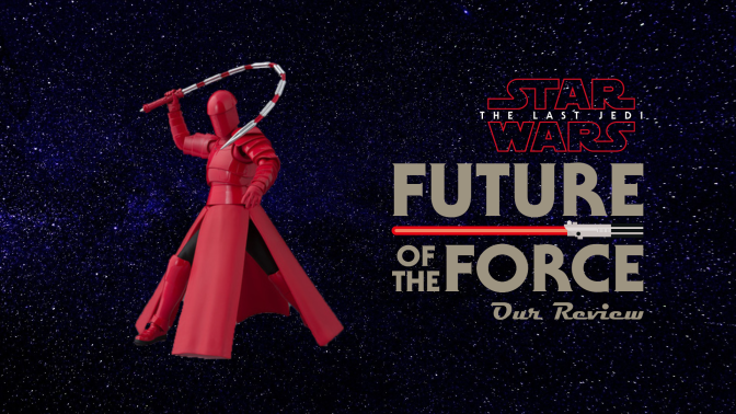 S.H. Figuarts Review | Praetorian Guard (Whip Staff) The Last Jedi