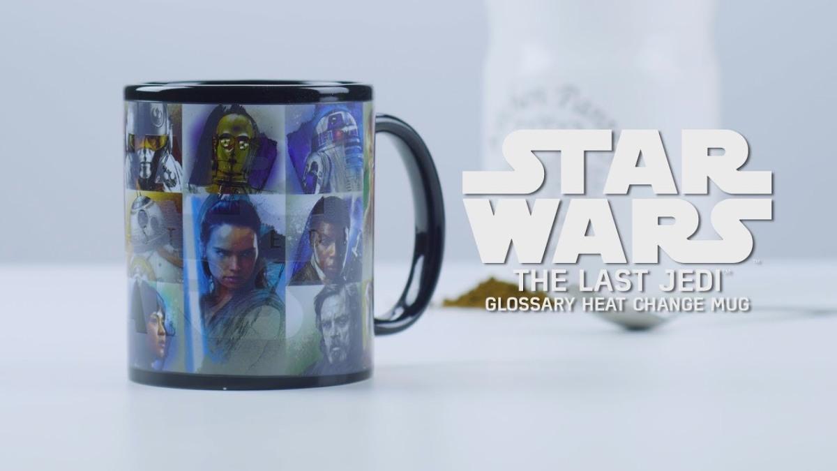 Star Wars: The Last Jedi Paladone Merchandise Strikes Back