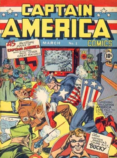 Comic Books & WWII - Captain America Comics - FOTF