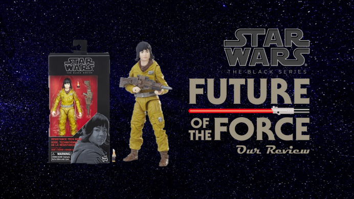 Black Series Review: Resistance Tech Rose Tico | Star Wars: The Last Jedi