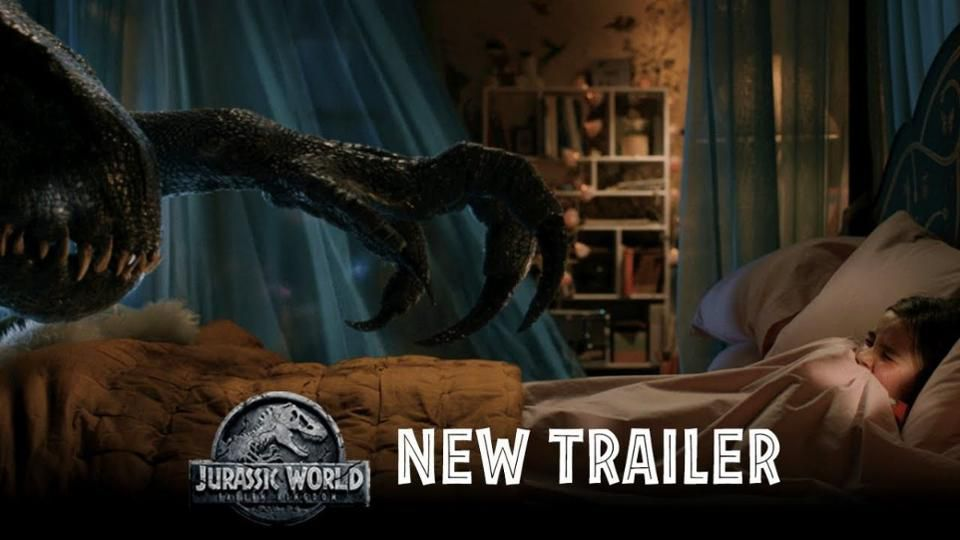 Jurassic World Fallen Kingdom New Trailer