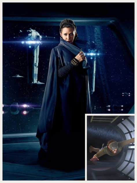 Star Wars Connections - Leia and Kanan - FOTF