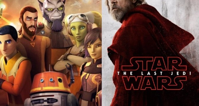 The Last Jedi and Star Wars: Rebels Connections