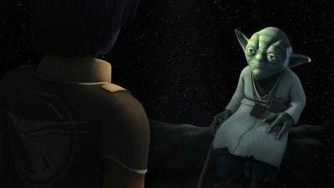 Star Wars Connections - Yoda and Ezra - FOTF