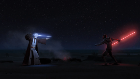 The Best Moments of Star Wars Rebels - Maul v Obi-Wan
