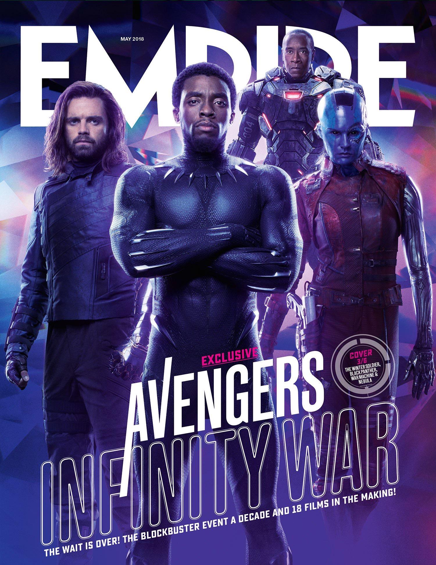 Avengers Infinity War Empire Cover 3