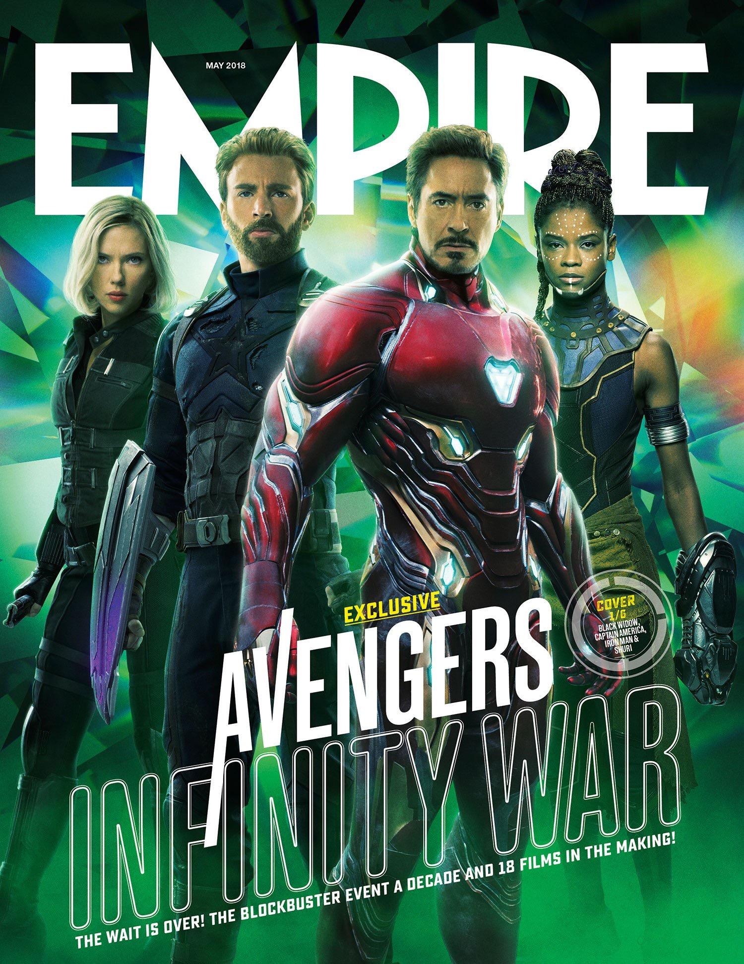 Avengers Infinity War Empire Cover