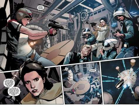 Star Wars comics volumes 1 to 3 Rebel Jail