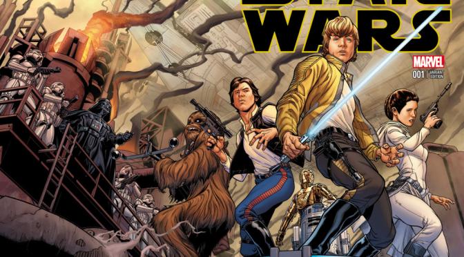 Star Wars Comics Volumes 1 to 3