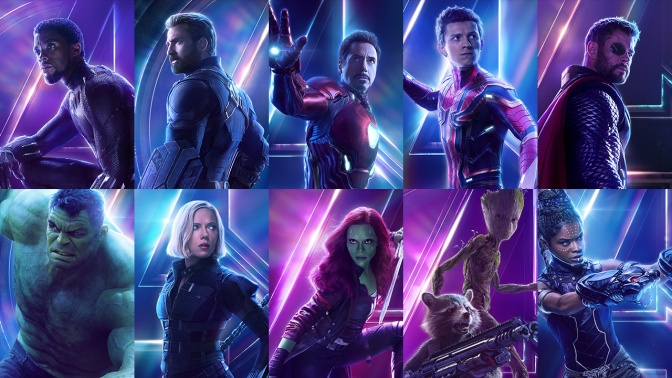The Avengers Assemble on All New Infinity War Character Posters…