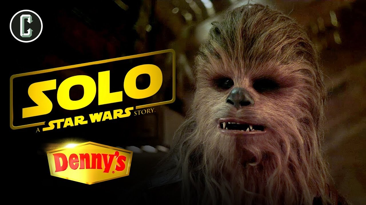 Denny's Commercial for Solo: A Star Wars Story Reveals New Aliens and Sabacc