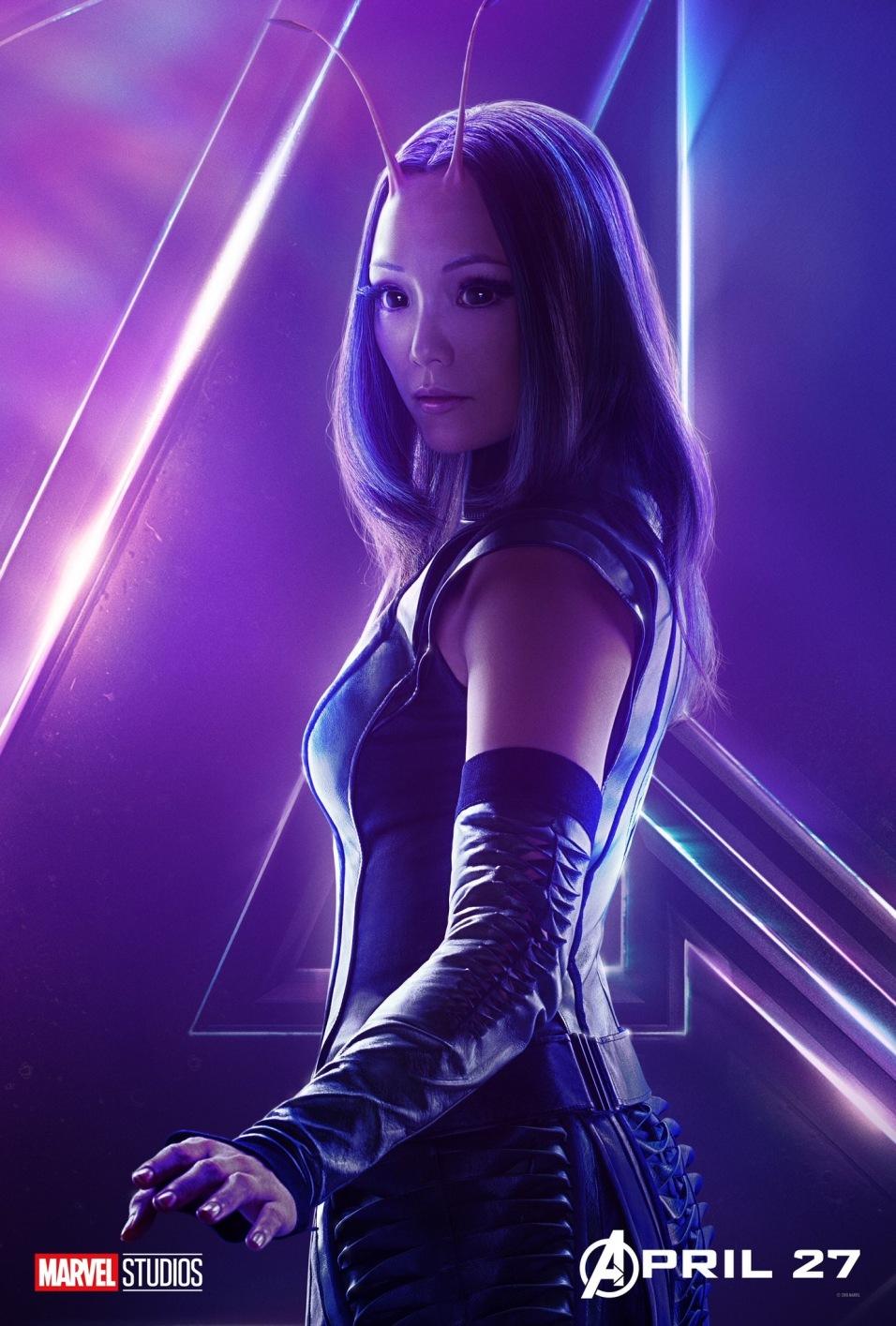 Avengers Infinity War Posters - Mantis
