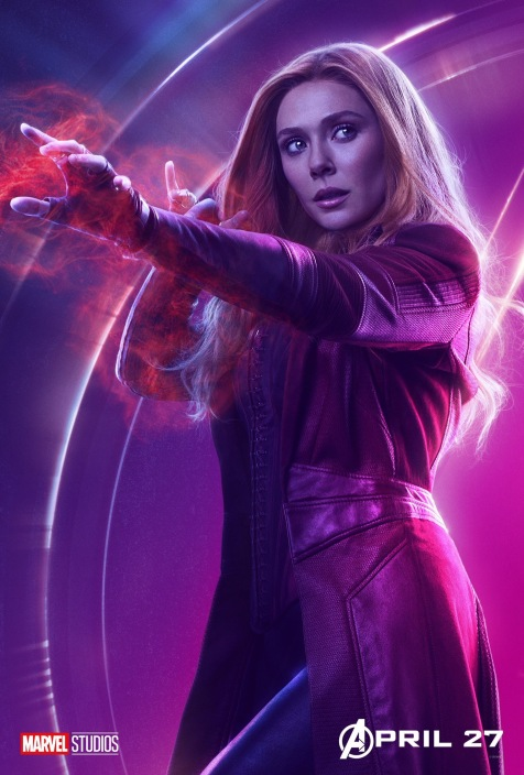 Avengers Infinity War Posters - Scarlett Witch
