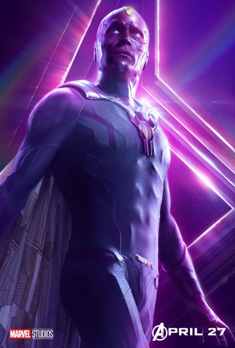 Avengers Infinity War Posters - Vision