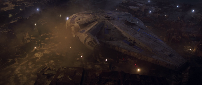 "New Solo: A Star Wars Story ""Millennium Falcon"" Extended TV Spot Trailer"