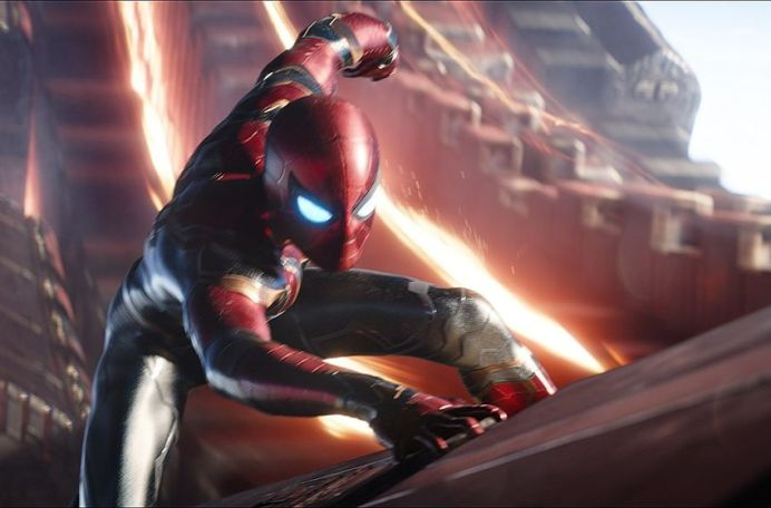 Spider-Man Fights Thanos in This New Avengers: Infinity War TV Spot