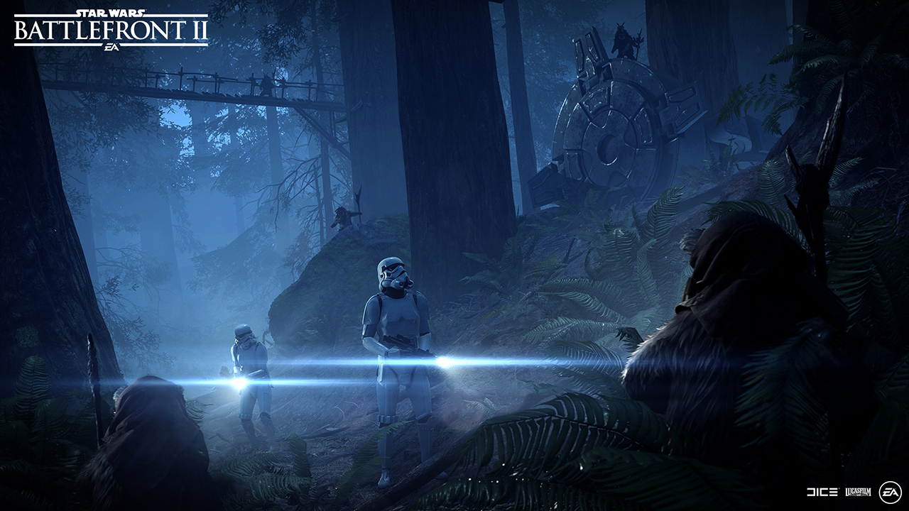 Ewok Hunt is Coming to Star Wars Battlefront II