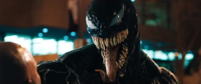 Tom Hardy is Consumed by the Symbiote in the New Venom Trailer