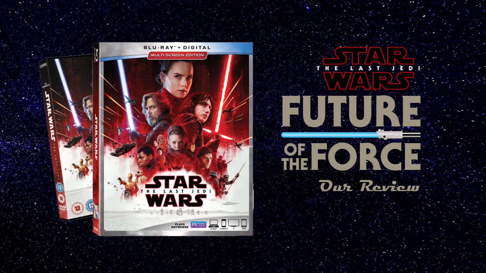 Review | Star Wars: The Last Jedi (Blu-Ray, DVD & Digital)