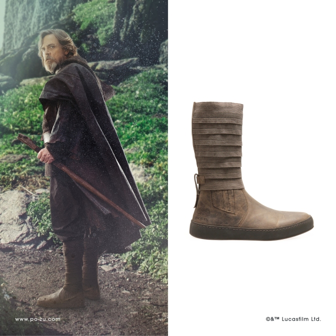 Climb the Peaks of Ahch-To | Po-Zu Reveal new Luke Skywalker Boots