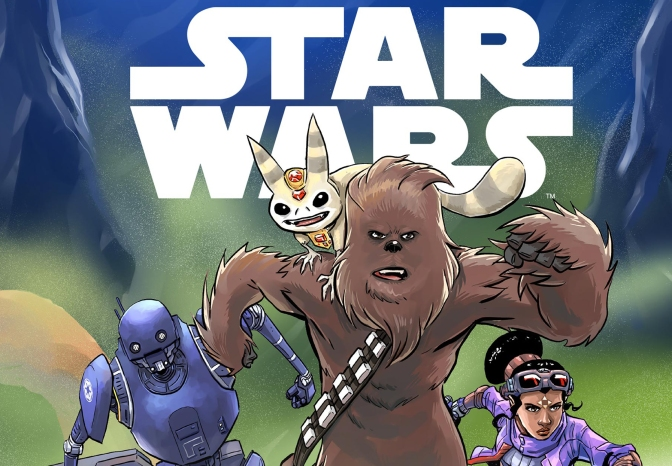 Star Wars: Middle Grade Books | The Mighty Chewbacca in the Forest of Fear!