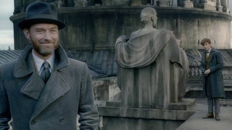 Explore the Crimes of Grindelwald in the SDCC Fantastic Beasts Trailer