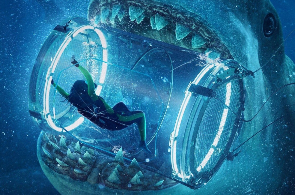 The Meg | Nostalgic New Posters Pay Homage to Steven Spielberg's Jaws