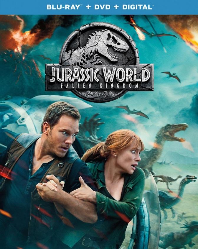 Take Home Jurassic World: Fallen Kingdom on September 18th