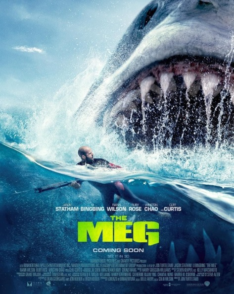 The Meg | Nostalgic New Posters Pay Homage to Steven Speilberg's Jaws