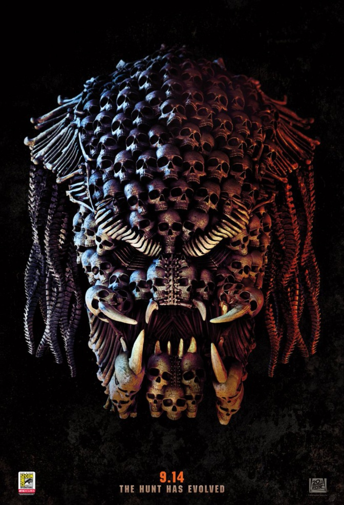 A Chilling New Poster for Shane Black's The Predator Unveiled at SDCC