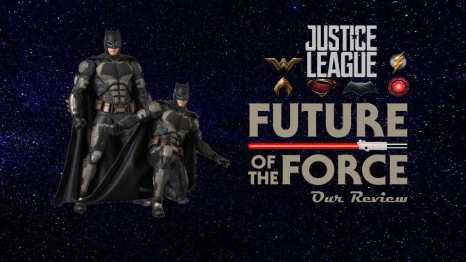 Justice League Review | Batman Tactical Suit MAFEX (Medicom)