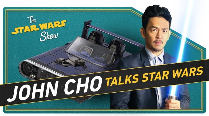 The Star Wars Show |John Cho Talks Fandom and A Closer Look at Han's Speeder from Solo!