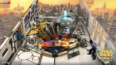 """Star Wars Pinball: Calrissian Chronicles — Hello, what have we here? Live Lando's life, from smooth-talking smuggler to rebel hero who helped destroy the second Death Star. Missions in this table not only base themselves on iconic Lando movie moments, but also on his memorable appearances in Star Wars Rebels and Marvel's Star Wars Lando (2015) comic book. More than 15 of Lando's enemies enter the fray, as well, not to be outdone by team-ups with the likes of Lobot and Han Solo. Unless, of course, sabacc cards are involved — then it's time to compete directly with Han… """"fair and square."""""""