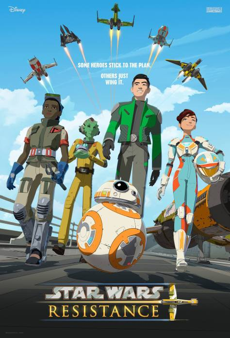 Star Wars Resistance Poster Unveiled