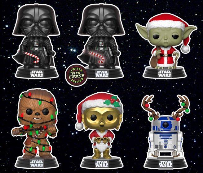 Funko Pop Unveil All New Star Wars Festive Friends