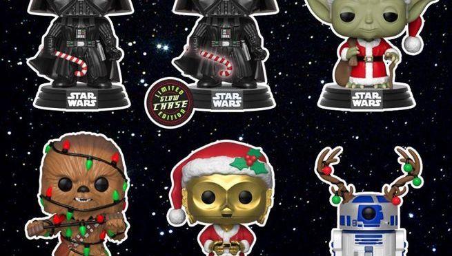 Funko POP! Unveil All-New Star Wars Festive Friends