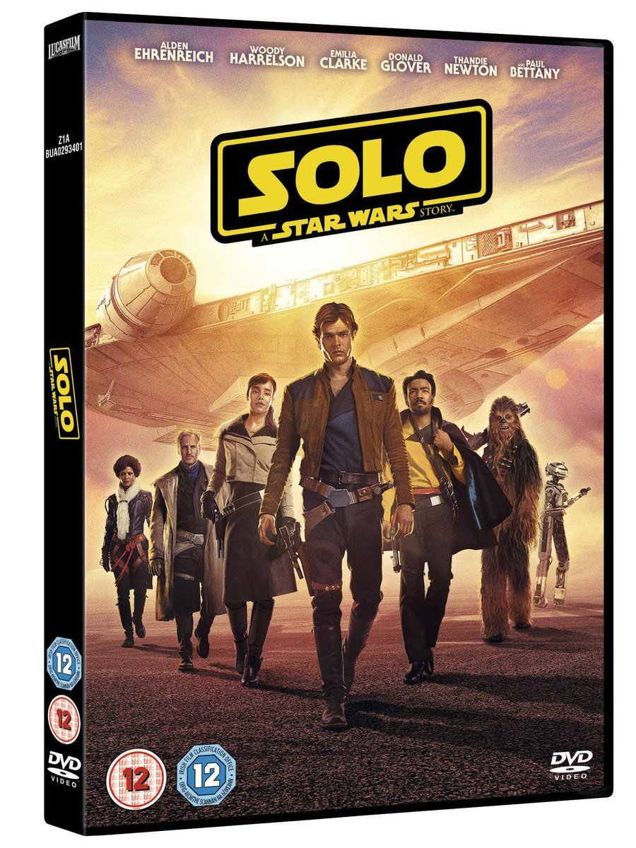 Solo: A Star Wars Story | Blu-Ray, DVD and Digital Review