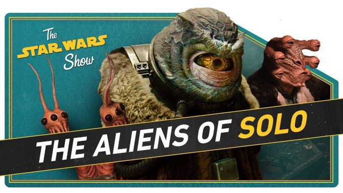 The Star Wars Show | Solo's Aliens Come to Life and Athena Portillo Joins the Resistance