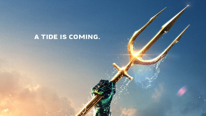 The King of Atlantis Rises in the New Aquaman Trailer