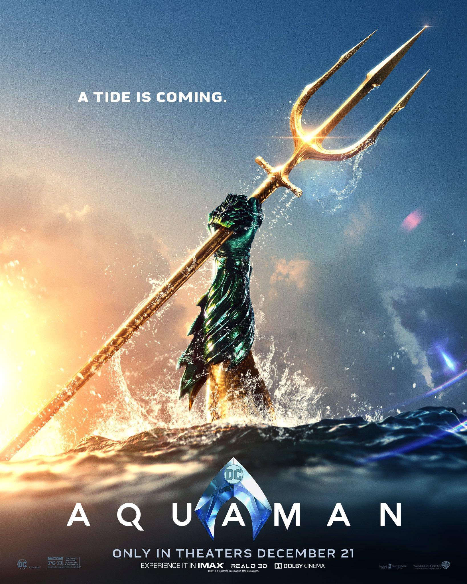 The King of Atlantis Rises in the New Aquaman Trailer