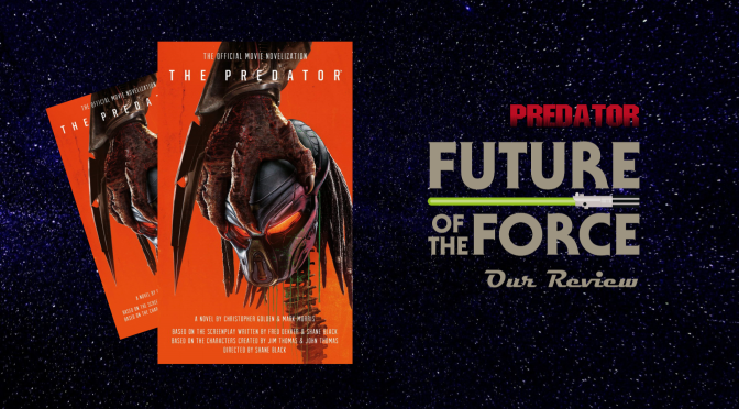 Book Review | The Predator Official Movie Novelisation